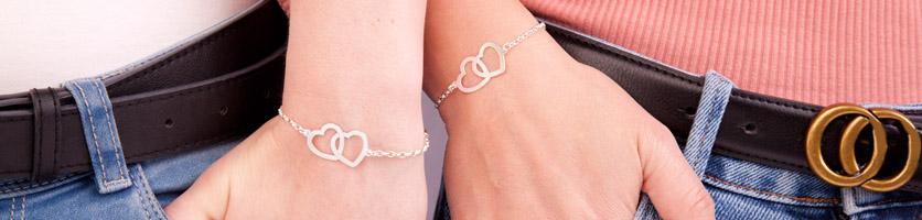 armbanden met hartje