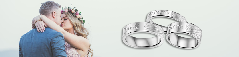 Fingerprint ring banner