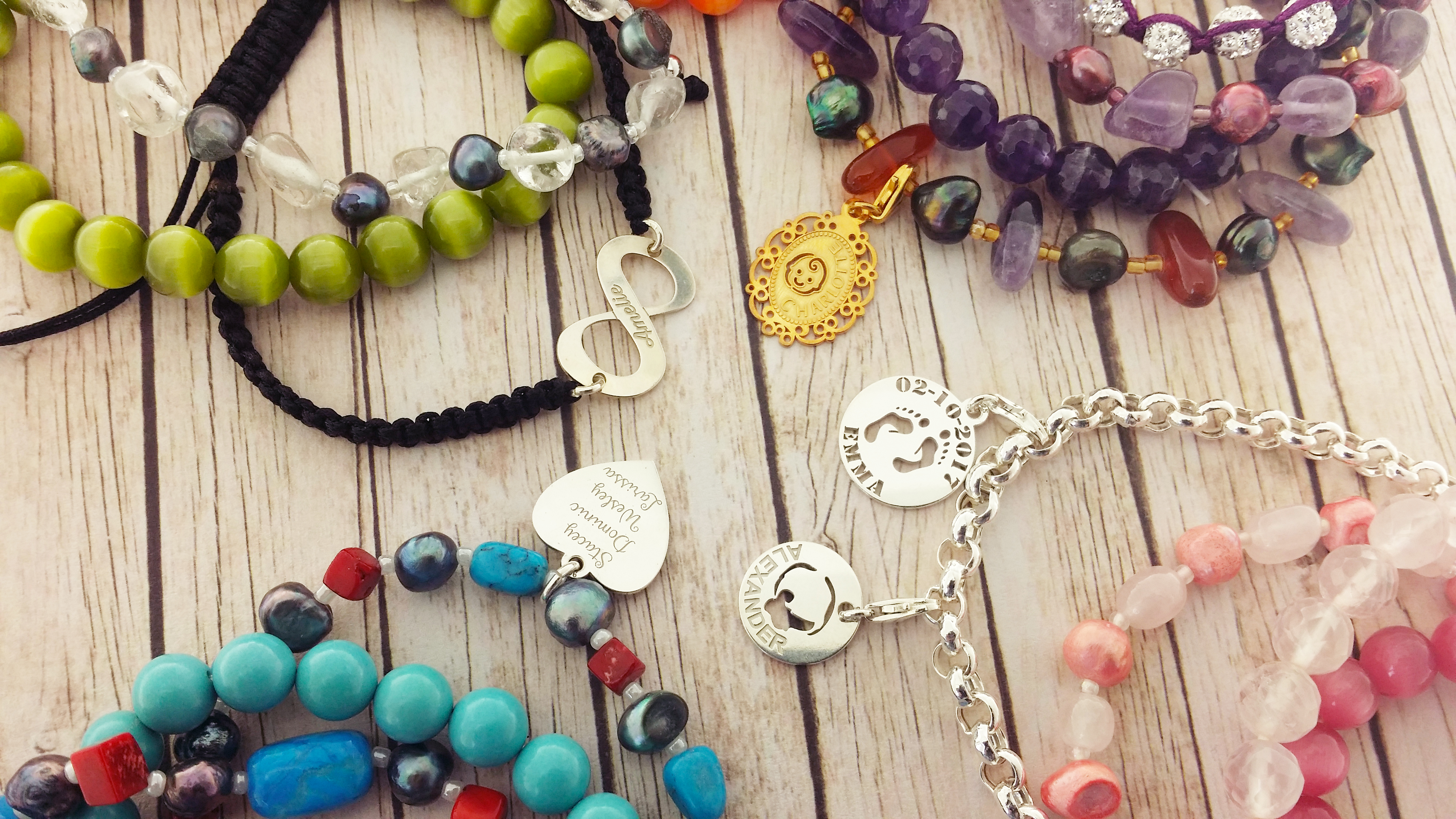 Armcandy armbanden assortiment van Names4ever