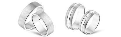 Dubbele ringen van Names4ever voor Vaderdag