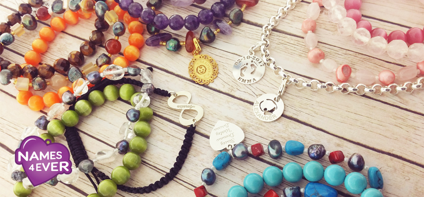 Armcandy, mix and match met Names4ever!