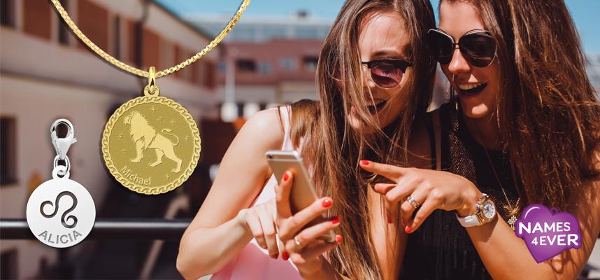 Zodiac jewelry Leo