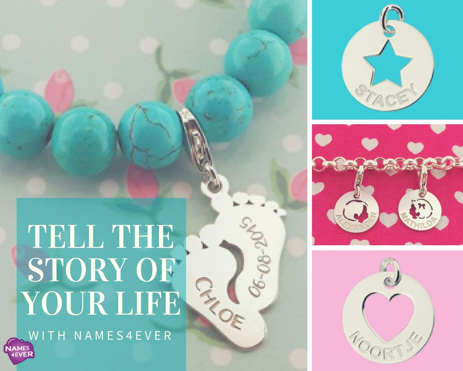 Bedelarmband – tell the story of your life with Names4ever