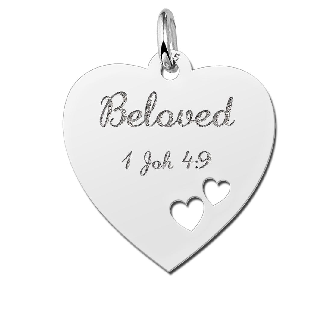 christelijke sieraden hartjesketting