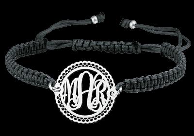Monogramm Armband