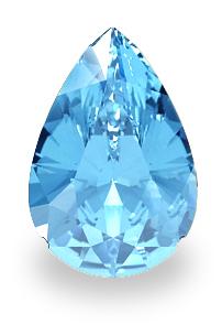 blauer topas stein