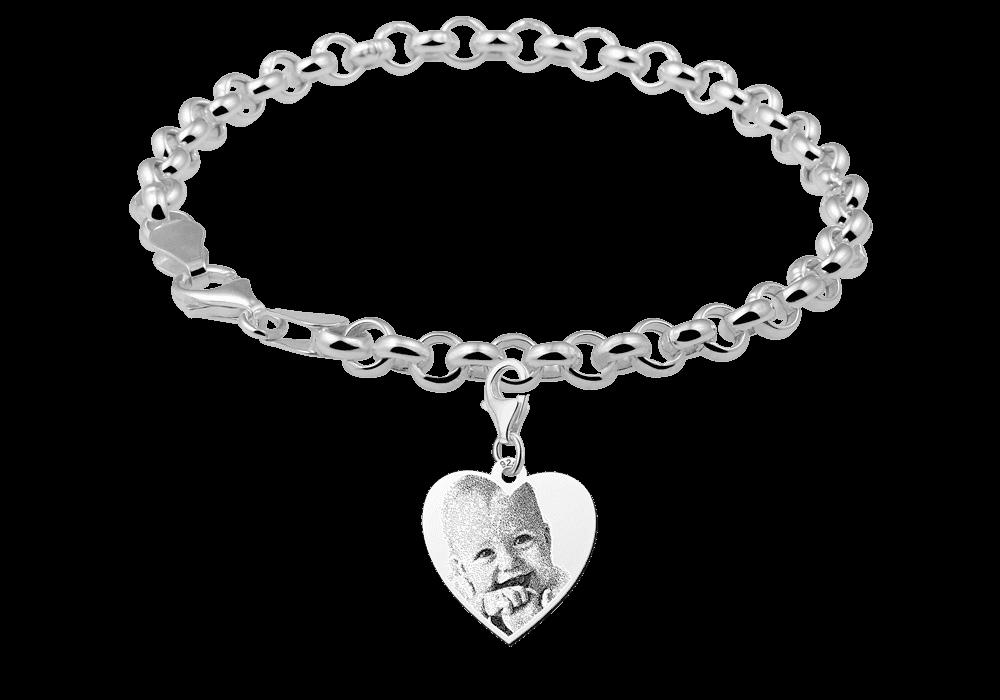 Armband mit Herz Anhänger