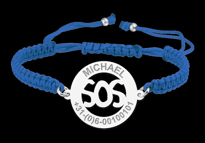 Kinderarmband SOS