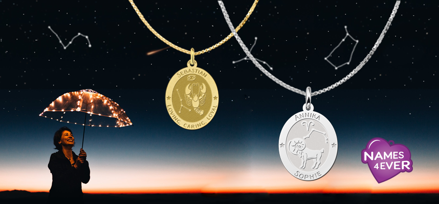 Zodiac jewelry - The origin and meaning of the zodiac signs