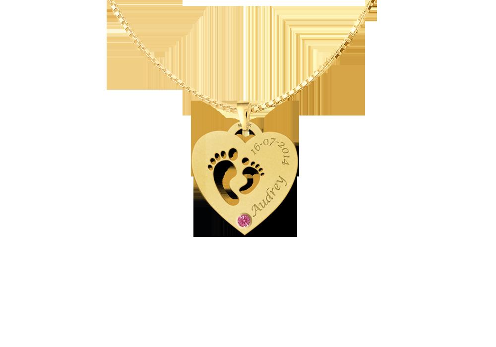 "golden mother child pendant "" alt="