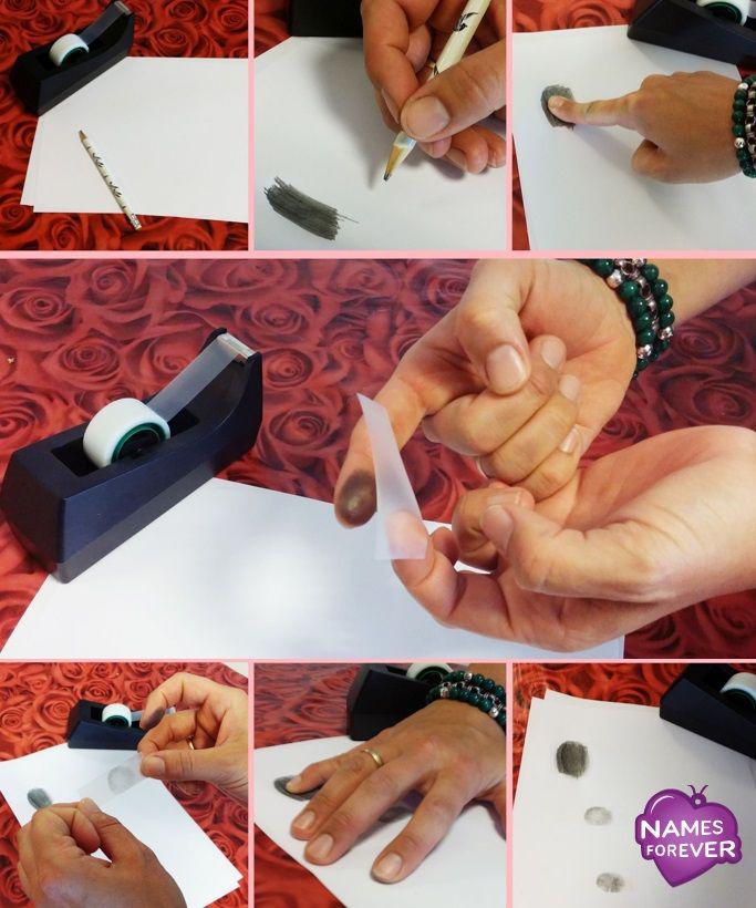Fingerabdruck machen